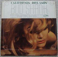 Bud Shank California Dreamin' LP on World Pacific