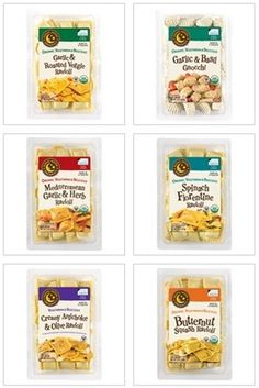 Rising Moon Organics Vegan Frozen Ravioli and Gnocchi - Six Dairy-Free Varieties!
