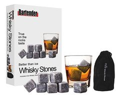 Whisky Stones, not only for Whisky...great to keep your wine cool without diluting it!