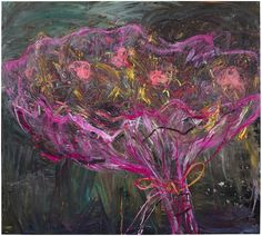 Nanna Susi Garden Tree [garden-tree] - Oil on canvas 2016 Size: 190 x 210 cm Garden Trees, Tree Oil, Contemporary Artists, Oil On Canvas, In This Moment, Abstract, Finland, Floral, Flowers