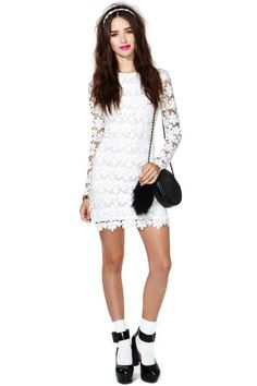 Lisanne Crochet Dress