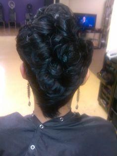 Short hair cut (back)