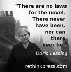 "Doris Lessing. She has written very good books such as ""Das fünfte Kind""."