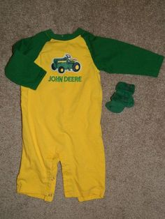 John Deer Baby Boy Infant Boy 2 Piece Set, 9 Months $6.50