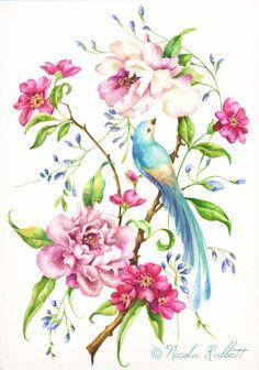Oriental Bird Design