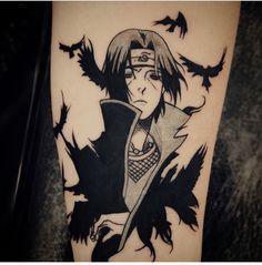 Amazing naruto tattoo - itachi - Anime tattoo - anime art...