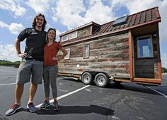 Tiny House Giant Journey Takes to the Highway - http://www.tinyhouseliving.com/tiny-house-giant-journey-takes-to-the-highway/
