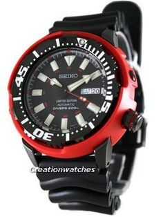 Seiko Automatic Diver Limited Edition SRP233K1 SRP233K SRP233 Mens Watch