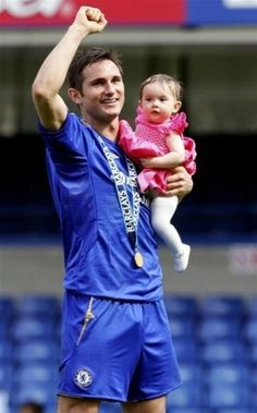 Frank lampard and daughter