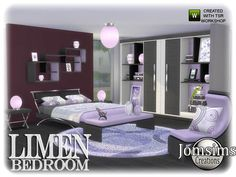 for your sims 4 here a new modern adult bedroom Limen. Found in TSR Category 'Sims 4 Adult Bedroom Sets' Resource Furniture, Sims 4 Cc Furniture, Grey Furniture, Home Furniture, Kids Bedroom Sets, Baby Bedroom, Girls Bedroom, Royal Bedroom, The Sims 4 Packs