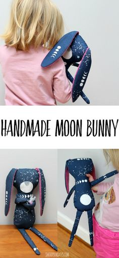Lunar lovers, unite! I couldn't resist joining in with the Monaluna Fabrics blog tour for their new Journey line; I'm obsessed with this organic poplin they gave me and I sewed it into a sweet bunny softie. I fussy cut…