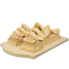 A Toys For Children 3d Puzzle Diy Wooden Puzzle Sydney Opera Hous A Kids Toys Also Suitable Adult Game Gift Of High Quality Wood