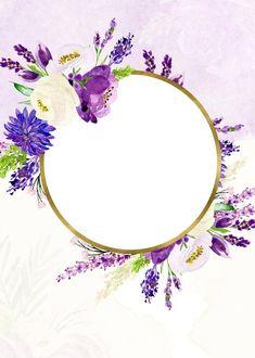 Photo Flower Background Wallpaper, Flower Phone Wallpaper, Frame Background, Flower Backgrounds, Wallpaper Backgrounds, Rose Frame, Flower Frame, Gold Wedding Invitations, Wedding Cards