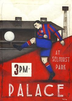 The wait is over Crystal Palace 2 ... now available online at http://www.bwsportsart.com/products/crystal-palace-2-ltd-edition-print-by-paine-proffitt?utm_campaign=social_autopilot&utm_source=pin&utm_medium=pin  #sports #art