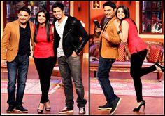 Exclusive Pics : #ComedyNightswithKapil: #ParineetiChopra -#SidharthMalhotra  http://images.chdcaprofessionals.com/2014/01/pics-comedy-nights-with-kapil-parineeti.html