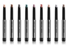 All nine shades of the Marc Jacobs Twinkle Pop Eye Sticks http://beautyeditor.ca/2014/12/27/marc-jacobs-twinkle-pop