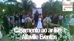 Casamento ao Ar Livre, lindo! Alfaville Eventos. Veja mais no guia: www.guianovasnoivas.com.br