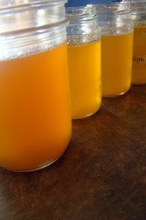 Nourished and Nurtured: How to Make Bone Broth and My Favorite Glass Container for Freezing Broth (a system for making perpetual broth in a slow cooker -- great for GAPS Intro)