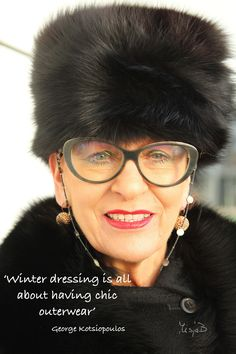 'Winter dressing is all about having chic outerwear'
