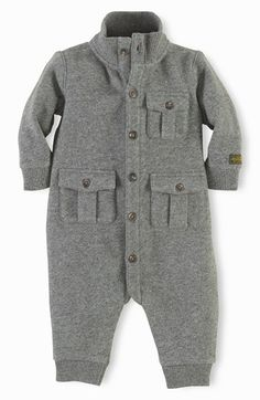 Ralph Lauren Romper (Baby Boys) available at #Nordstrom