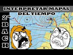 Interpretar mapas del tiempo 2º Bachillerato Geografía - YouTube