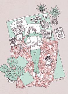 ᐅ Die 99 Besten Bilder von Illustration in 2019 Ryoko Nagata Art And Illustration, Pretty Art, Cute Art, Anime Chibi, Anime Art, Bd Comics, Poster S, Aesthetic Art, Aesthetic Anime