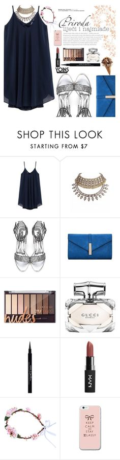 """""""Untitled #1826"""" by anarita11 ❤ liked on Polyvore featuring Gucci and Givenchy"""
