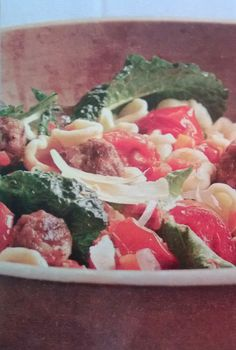 Orecchiette with Bacon Meatballs - bacon meatballs! What have I been ...