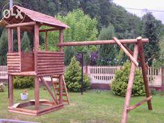 Meble Ogrodowe Huśtawka-Domek dla dzieci Szymanów - image 1