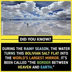 Image may contain: 1 person, ocean, cloud, sky and ouor Some Amazing Facts, True Interesting Facts, Interesting Facts About World, Intresting Facts, Unbelievable Facts, Interesting Information, Interesting Stuff, Wow Facts, Real Facts