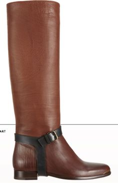 Lanvin Riding Knee Boot  --CLICK THROUGH, POKE ON STAR TO BUY