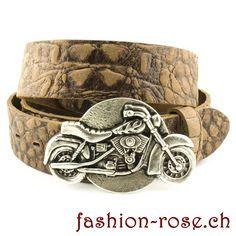 Dunkelblauer echt Ledergürtel mit Gürtelschnalle Töff ein perfektes Geschenk für Motorrad Fans Rind, Cuff Bracelets, Jewelry, Fashion, Perfect Jeans, Silver Jewellery, Metal, Get Tan, Gift