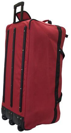 e5391cff58c3 Amaro 36 Inch Explorer Rolling Duffel Extra Large - Black - Travel Duffle  Bags