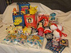 Burger King Pokemon Toys Lot Collection Variety Some Sealed 23K Cards #BurgerKing