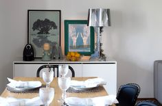 Buffet Lumini e Mesa Space. Gostou? Saiba mais em www.oppa.com.br Oppa Design, Candle Holders, Furniture, Home Decor, Space, Big, Dinner Room, Decorating Ideas, Environment