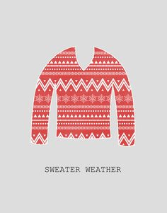 It's that time of the year!   I want a christmas sweater :(