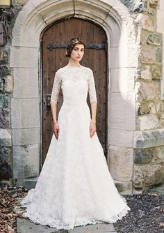 Sweetheart A-Line Wedding Dress  with Natural Waist in Lace. Bridal Gown Style Number:33100660