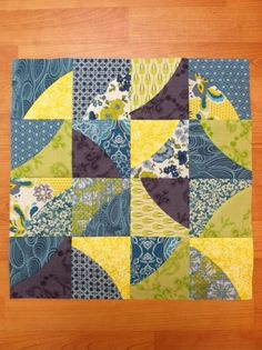 Block #11 by mtclifford2012, via Flickr  Curve It Up BOM by Sew Kind Of Wonderful