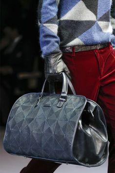 Giorgio Armani - Men Fashion Fall Winter 2013-14 Mens Luggage b28d04dcdc6