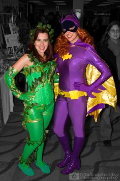 #PoisonIvy and #Batgirl #Cosplay from #SteelCityCon #ComicCon ----- Check out more of my photography @ http://www.facebook.com/MidnightSkyPhotography (Link in Profile) ----- #MidnightSkyPhotography #MidSkyPhoto