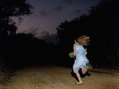 Photographs of People Running Away From Unseen Dangers ...