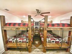 Simpson Signature Houses Luxurious rental trip farmhouse cabin on the Caddo River in Glenwood, AR bu