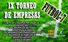Torneo de Empresas de #Futbol7 en #VelezRubio
