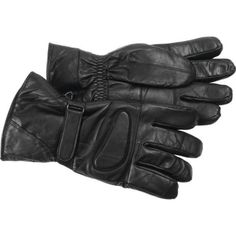Solid-Lambskin-Leather-Motorcycle-Biker-Riding-Rider-Driving-Protective-Gloves