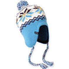 0bac3dc4d7f Ice Queen Peruvian Knit Hat (Light Blue) Adora.  12.95