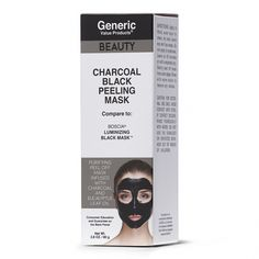 Charcoal Black Peeling Mask #FacePeelMask Face Peel Mask, Peel Off Mask, Diy Face Mask, Charcoal Mask Benefits, Charcoal Mask Peel, Eucalyptus Oil, Cleansing Mask, Sally Beauty, Black Mask