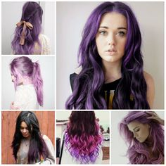 50 Short Hair Color Ideas for Women, If you want a unique look you must try this hair color. Color your lower hair with red color and upper hair with black. This hair color is going to ma. Short Hairstyles For Women, Straight Hairstyles, Cool Hairstyles, Fashion Hairstyles, Easy Hairstyle, Hairstyle Ideas, Hair Ideas, Hair Color Purple, New Hair Colors