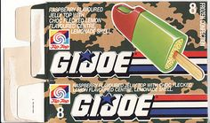 1988 Tip-Top G.I. Joe Ice Block Box - Front - New Zealand | by NZCollector