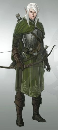 silver haired elf - Google Search