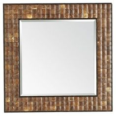 Coconut Shell Mirror - Pier One Imports